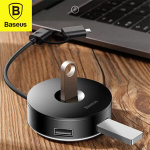 baseus type c + usb to 4 usb port hub in pakistan
