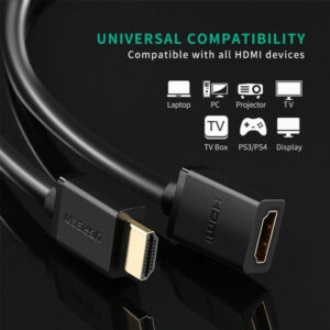 ugreen hdmi male to hdmi female adapter in pakistan