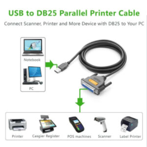 ugreen usb to db25 cable