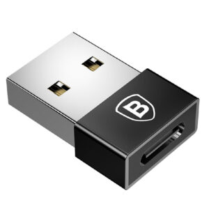 Baseus CATJQ-A01 Adapter USB To USB-C Exquisite Black