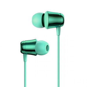 Baseus NGH13-06 3.5mm Plug Wired Eerphone with HD Microphone, Support for Call and Volume Adjustment(Green)
