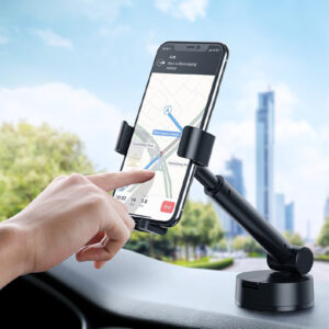 Baseus SUYL-JY01 Simplicity Gravity Car Mount Holder with Suction Base - Black