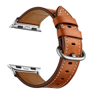 Wiwu 38-40mm Leather Watch Band Brown
